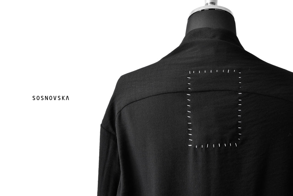 Load image into Gallery viewer, SOSNOVSKA SOFT OPEN SHIRT (BLACK)