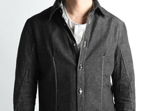 画像をギャラリービューアに読み込む, incarnation BUTTON DOWN SHIRT / ONE WASHED 6.5oz SELVEDGE CHAMBRAY (GREY)