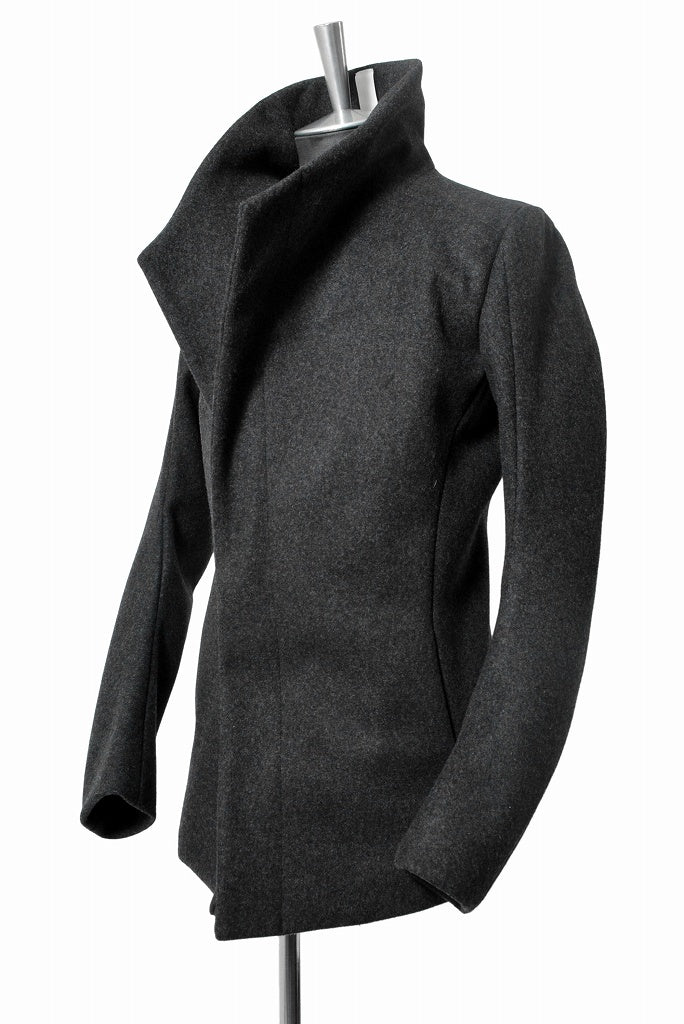 "N/07 wrapcoat ""asesino"" [premium woolyarn cashmere 