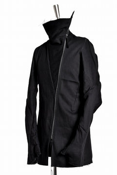 画像をギャラリービューアに読み込む, LEON EMANUEL BLANCK DISTORTION STRAIGHT JACKET / LOOSE STITCH (BLACK)