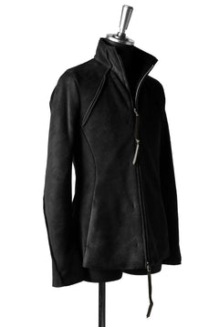 Load image into Gallery viewer, N/07 Rawcut Track Jacket / WARM Fleece Tech (BLACK)