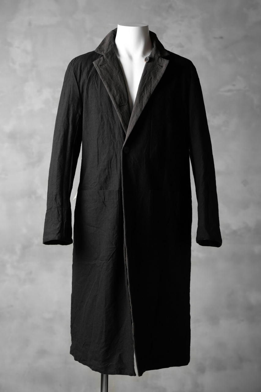 forme d'expression Reversible Duster Coat (Cypress+Night)