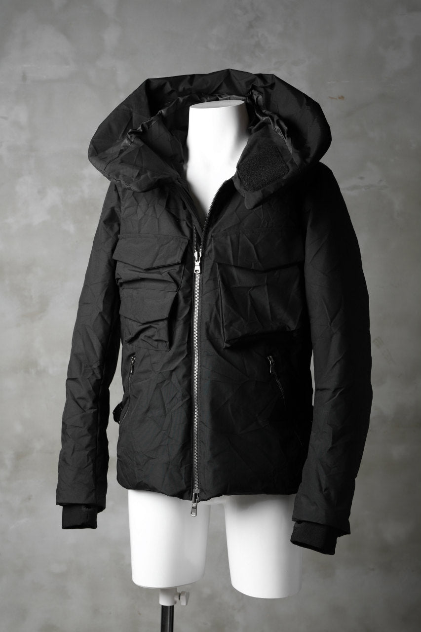 The Viridi-anne WRINKLED 3LAYER DOWN JACKET