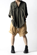Load image into Gallery viewer, KLASICA GERALD-cc LOW CROTCH SHORTS / DRY CHINO CLOTH (BEIGE)