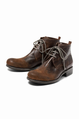 DIMISSIANOS & MILLER chukka boot / culatta reverse roughout (BROWN)