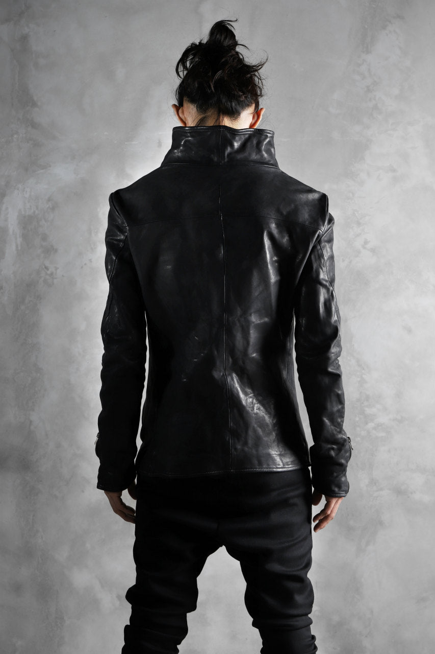 画像をギャラリービューアに読み込む, incarnation exclusive DUALFACE ZIP JACKET / OBJECT DYE TANNED HORSE*Stitchless (BLACK)