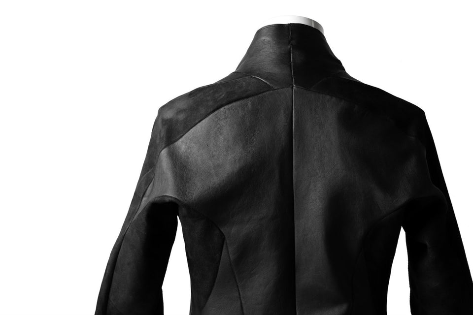 画像をギャラリービューアに読み込む, LEON EMANUEL BLANCK exclusive FORCED AVIATOR JACKET / GUIDI KANGAROO LEATHER (BLACK)