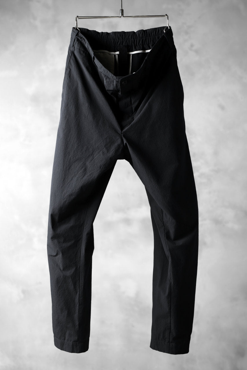 forme d'expression Straight Ankle Pants (BLACK)