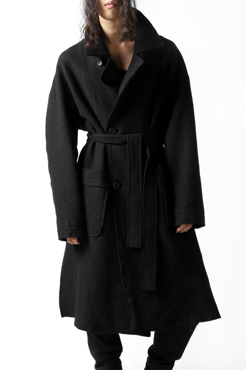 The Viridi-anne REVERSIBLE TRENCH COAT / WOOLRING FLEECE