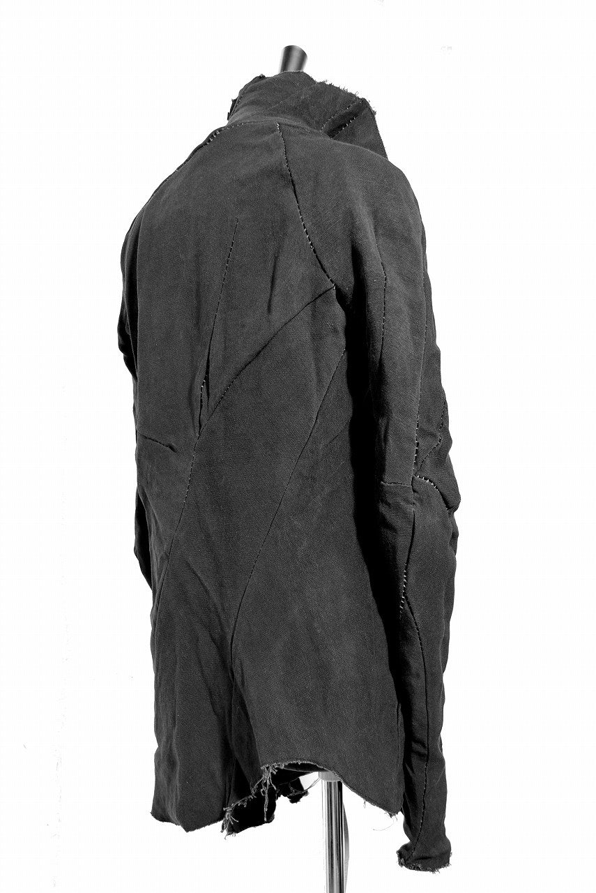 LEON EMANUEL BLANCK DISTORTION JACKET / BAMBOOLINEN (GRAY)
