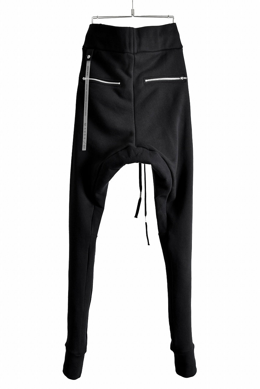 "N/07  ""MAUSK Detail"" Jogger Pants -With Super Skinny- (BLACK)"