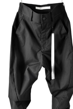 "Load image into Gallery viewer, N/07 ""MAUSK Detail"" CURVED JODPHURS PANT C/RIPSTOP (BLACK)"