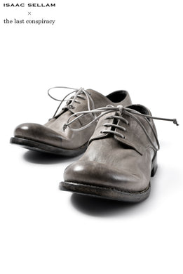 ISAAC SELLAM EXPERIENCE x the last conspiracy FABRICE DERBY SHOES (GRIS)
