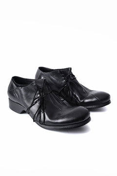 画像をギャラリービューアに読み込む, LEON EMANUEL BLANCK x Dimissianos & Miller DISTORTION SCAR LACED DERBY / GUIDI HORSE OILED (BLACK)