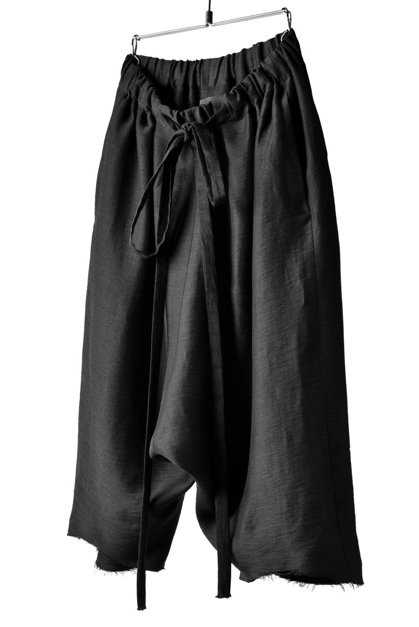 Load image into Gallery viewer, SOSNOVSKA INCLINATION WIDE PANTS (BLACK)