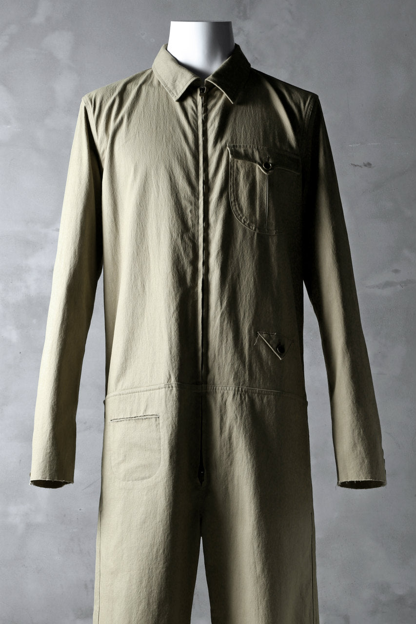 blackcrow all in one suits / cotton woven (BEIGE)