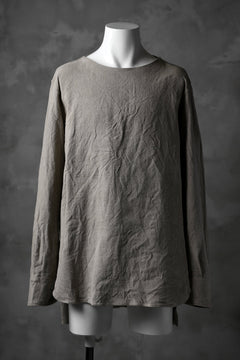 Load image into Gallery viewer, sus-sous shirt pullover / French vintage linen (NATURAL)