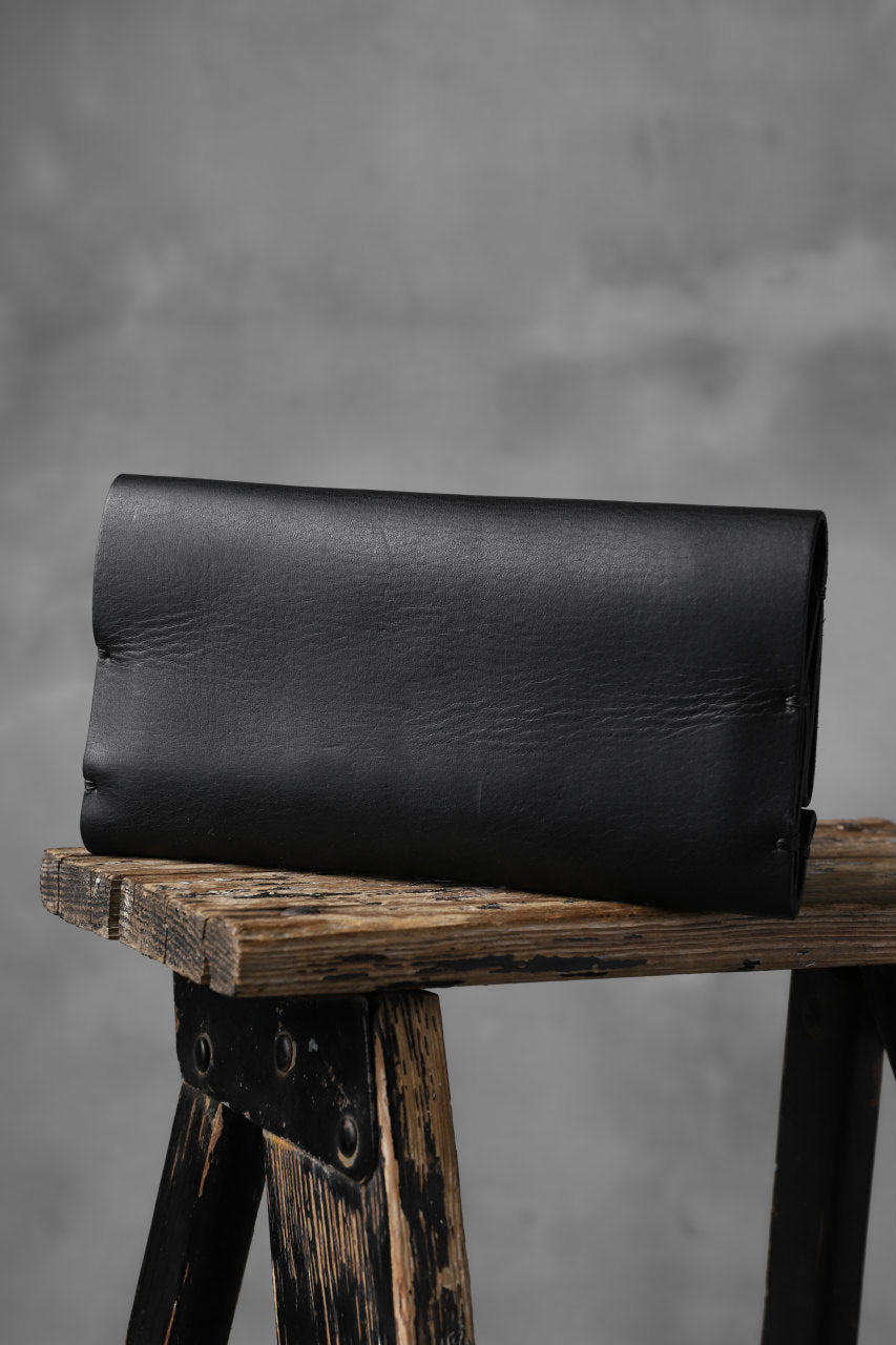 KLASICA LONG WALLET / TEMPESTI OILED COW BENDS LEATHER (BLACK)