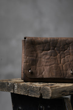 画像をギャラリービューアに読み込む, Chörds; TR CARD CASE / HORSE BUTT LEATHER (ROUGH / CAMEL)