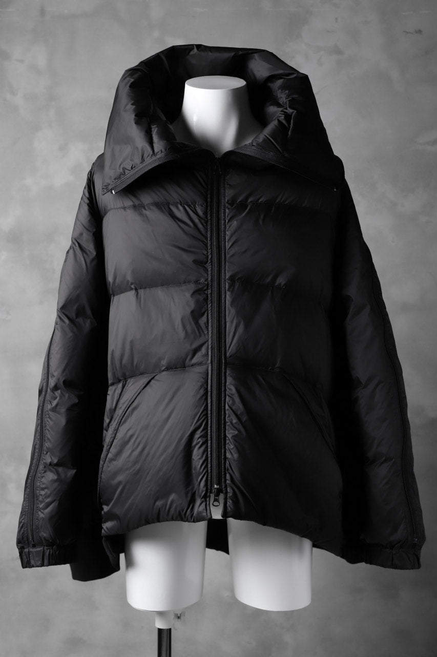 RUNDHOLZ HIGHNECK BOMBER JACKET / DOWN PADDING (ARABICA)