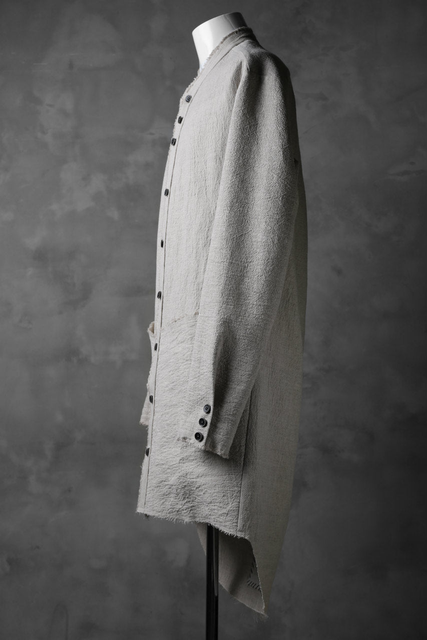 SOSNOVSKA exclusive LOADED POCKETS SHIRT (IVORY)