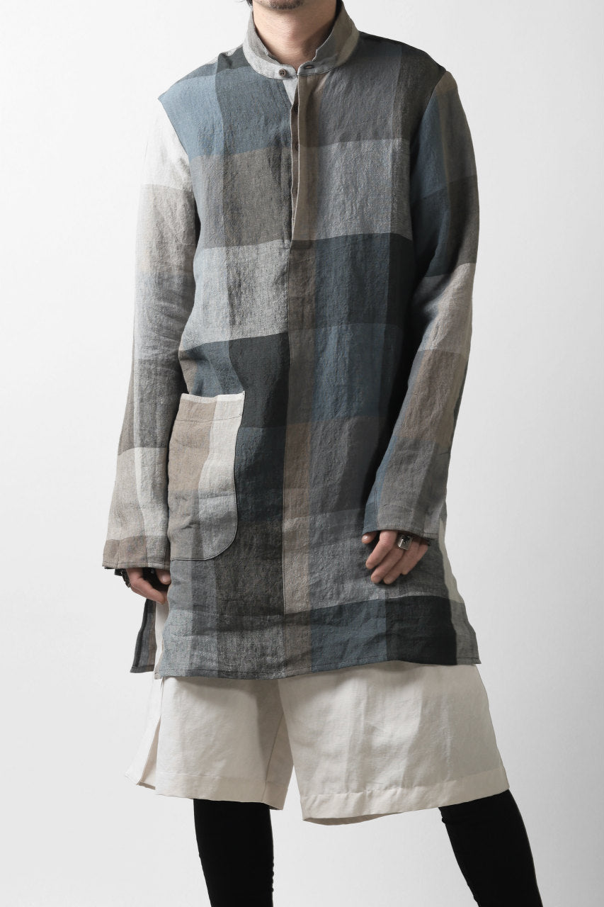 Hannibal. Big Checks Tunic Shirt (BIG CHECKS)