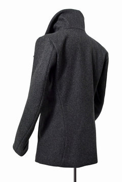 "画像をギャラリービューアに読み込む, N/07 wrapcoat ""asesino"" [premium woolyarn cashmere 