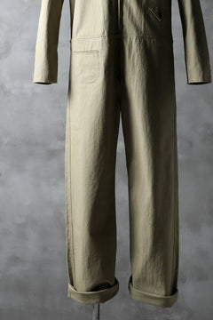 Load image into Gallery viewer, blackcrow all in one suits / cotton woven (BEIGE)