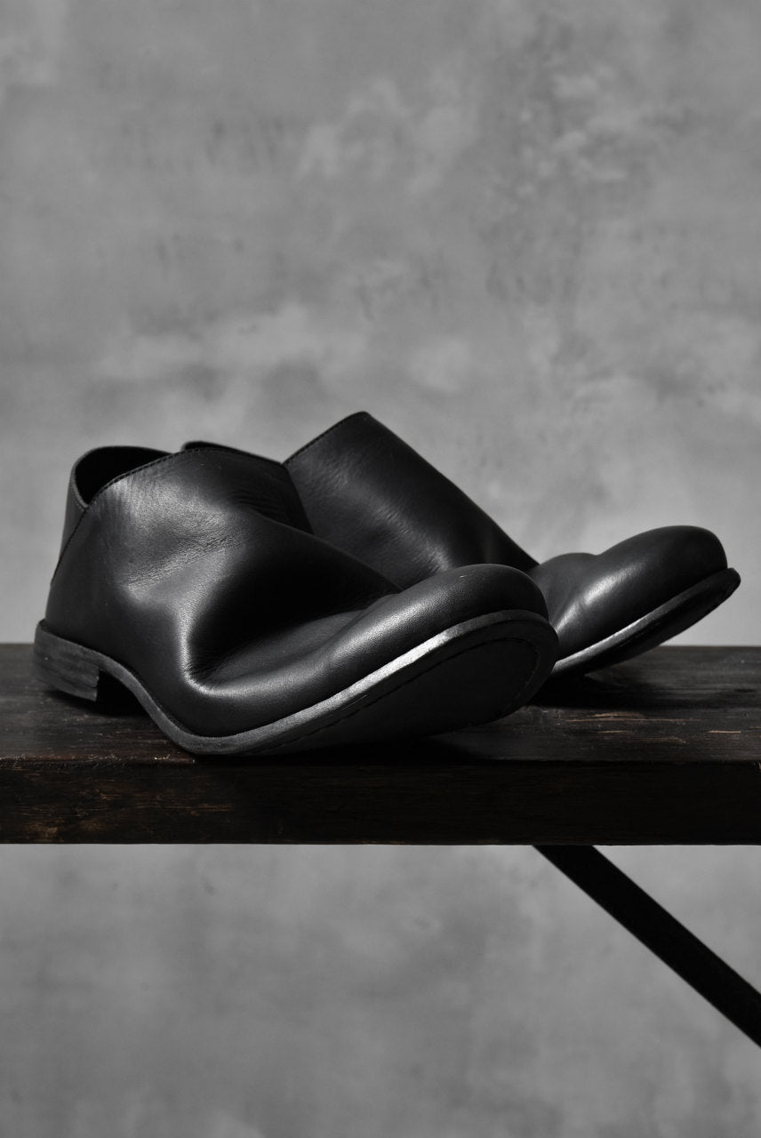 Portaille exclusive Babouche Slipon Shoes (JP-Smooth Pelle / BLACK)