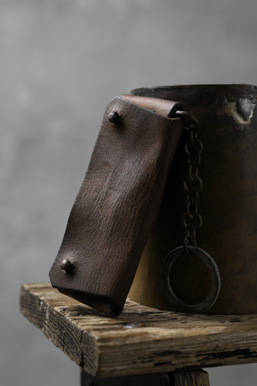 Chörds; SQ. KEY CASE / HORSE BUTT LEATHER (CAMEL)