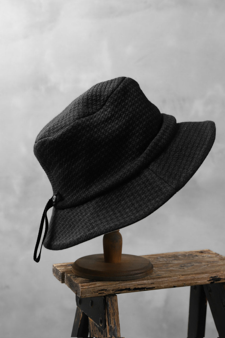 Load image into Gallery viewer, forme d'expression Panama Hat (Black)