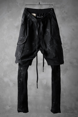 RESURRECTIONx A.F ARTEFACT Re-production LAYERED SKINNY PANTS