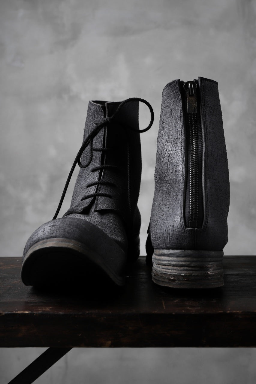 Portaille exclusive Lace Upped Back Zip Middle Boots (BABELE by TEMPESTI / NERO)