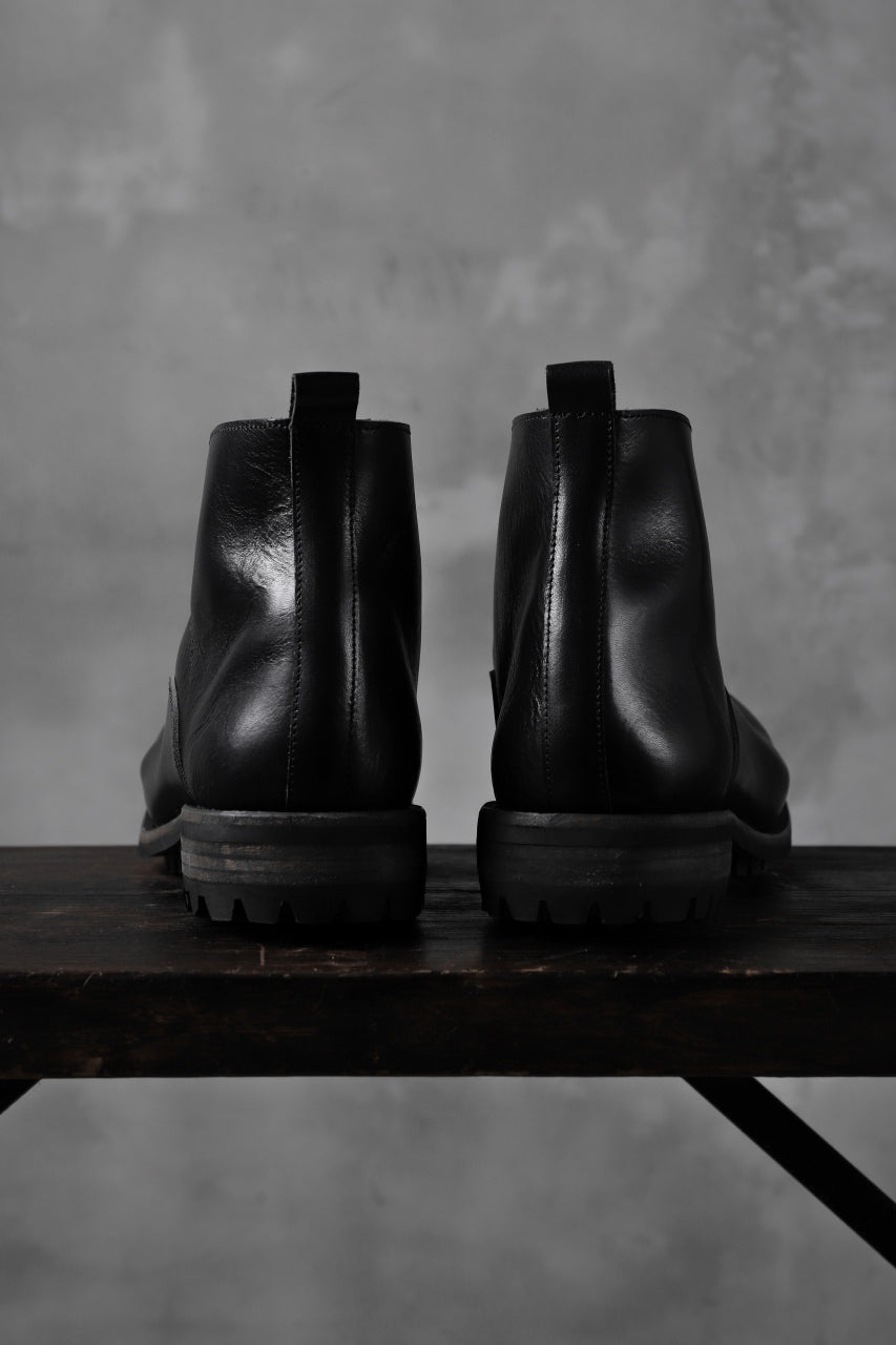 "画像をギャラリービューアに読み込む, Portaille ""one make"" Albert Front Zip Boots (Vachetta TCG) / BLACK)"