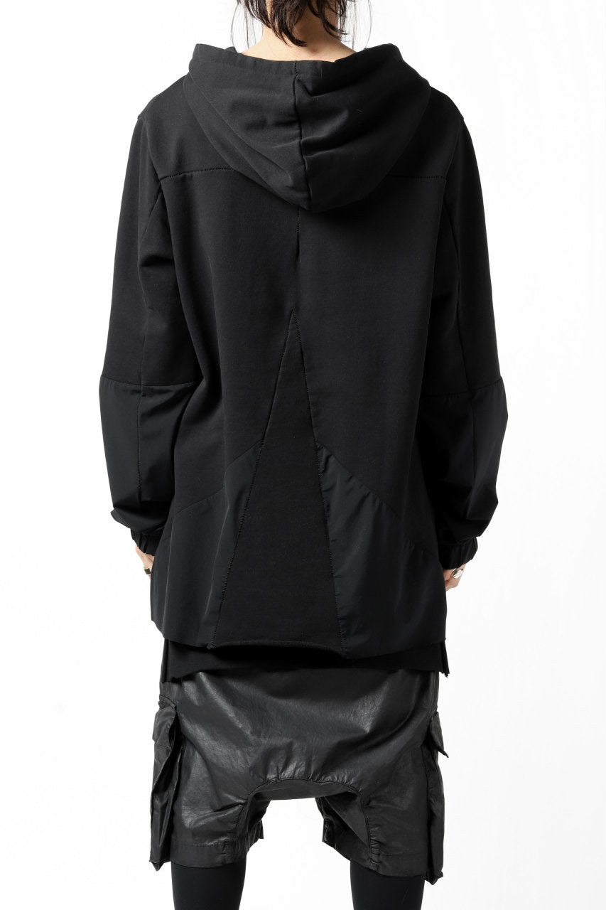 thomkrom SWITCH PULLOVER HOODIE (BLACK)