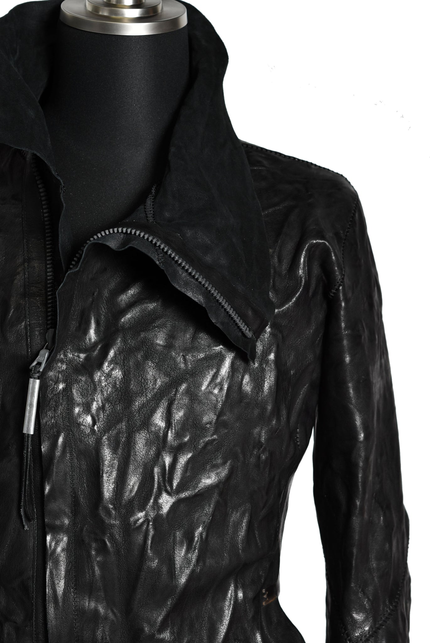 "ISAAC SELLAM IMPARABLE CRASSE POUILLE ""LAMB SKIN LEATHER"" (NOIR)"