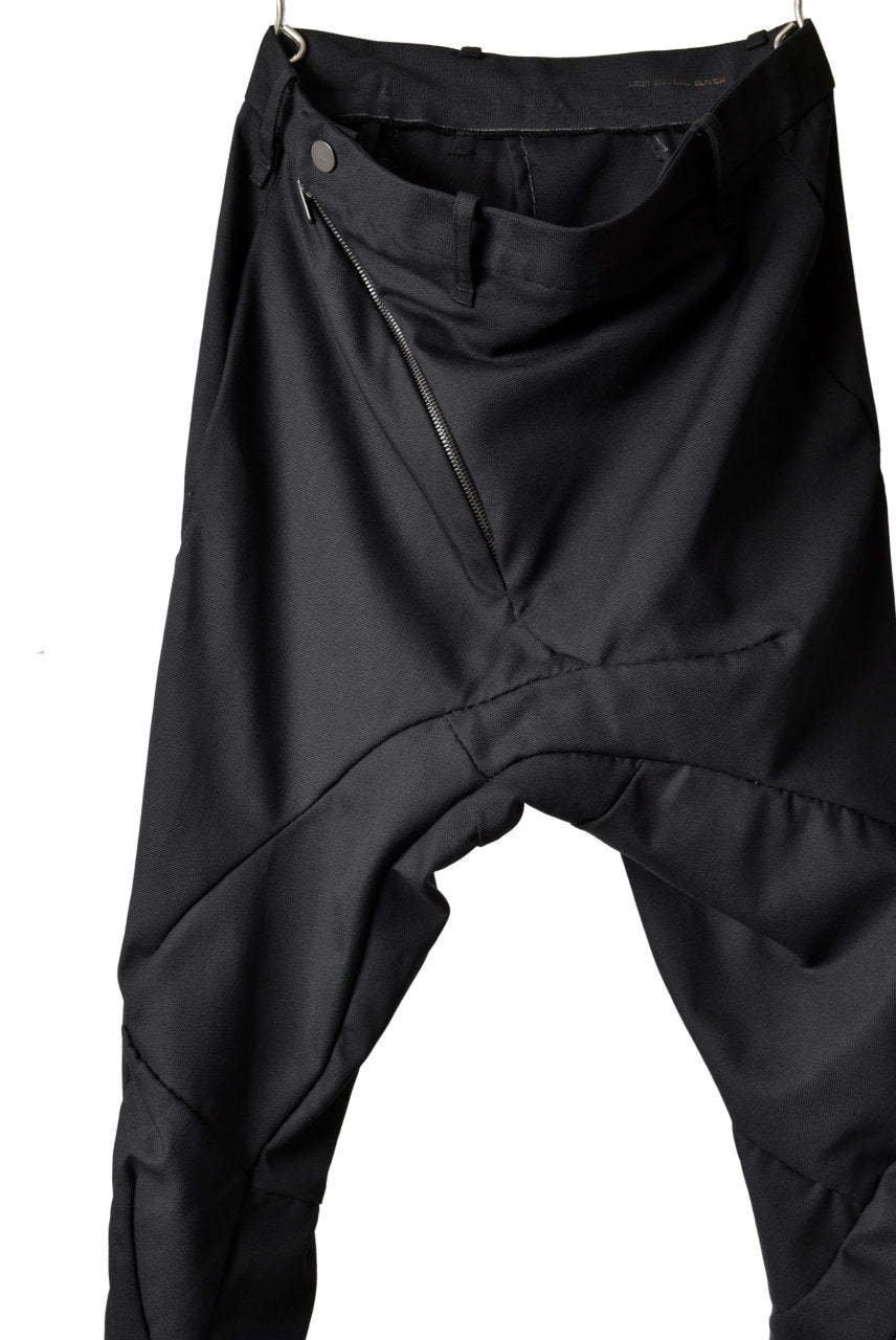 LEON EMANUEL BLANCK DISTORTION CHEM PANTS / MIRAVEL (BLACK)