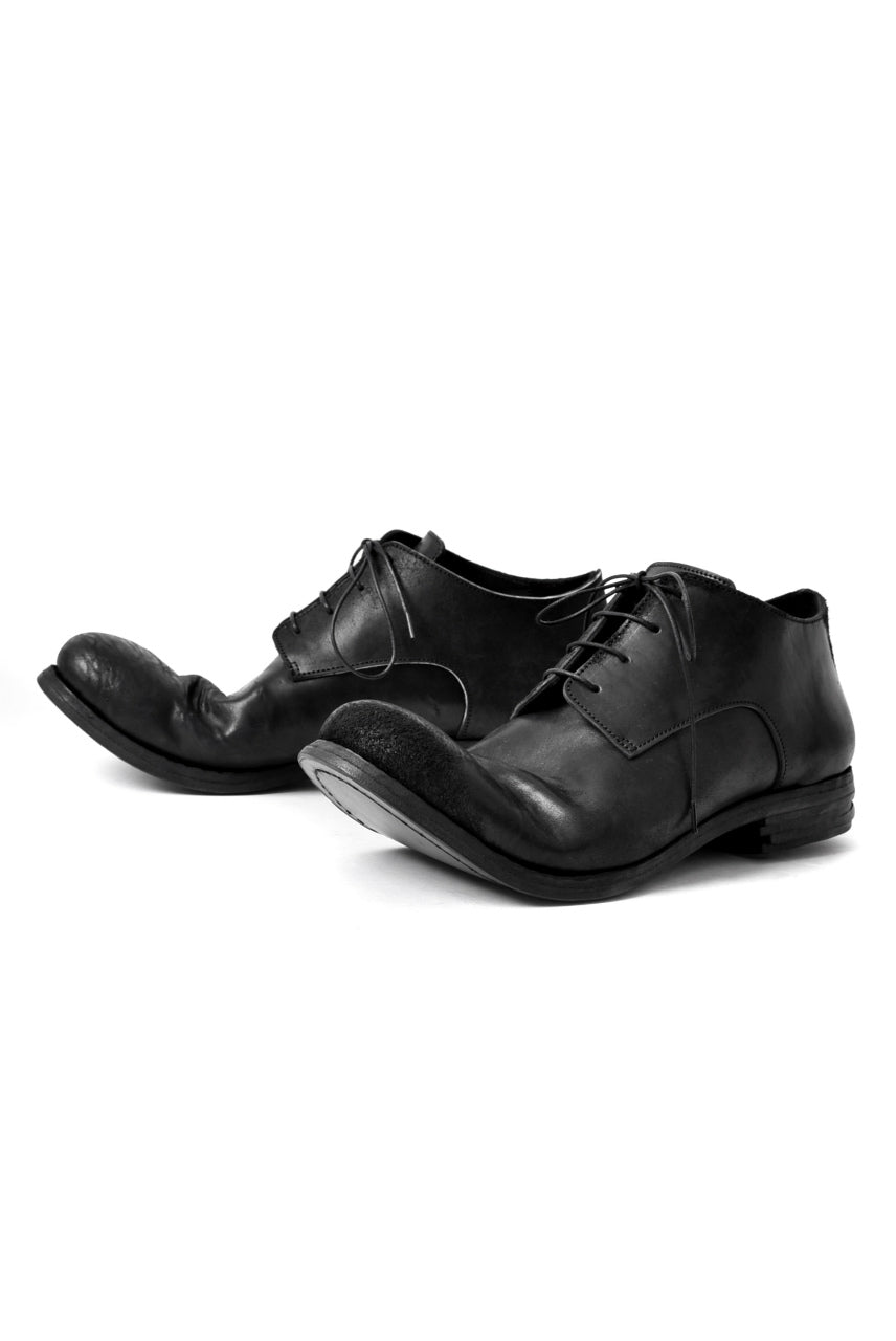 "prtl x 4R4s exclusive derby shoes / Cordovan Full grain ""No3-5"" (BLACK)"