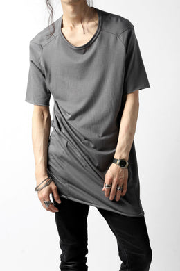A.F ARTEFACT MULTI PANELED T-SHIRT / L.JERSEY (GREY)