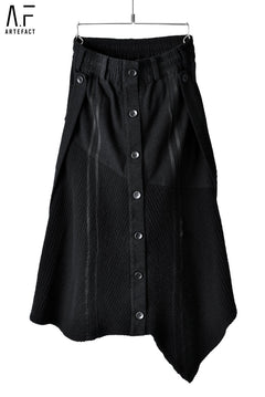 画像をギャラリービューアに読み込む, A.F ARTEFACT FEMME SUSPENDER DETAIL BUTTONED SKIRT