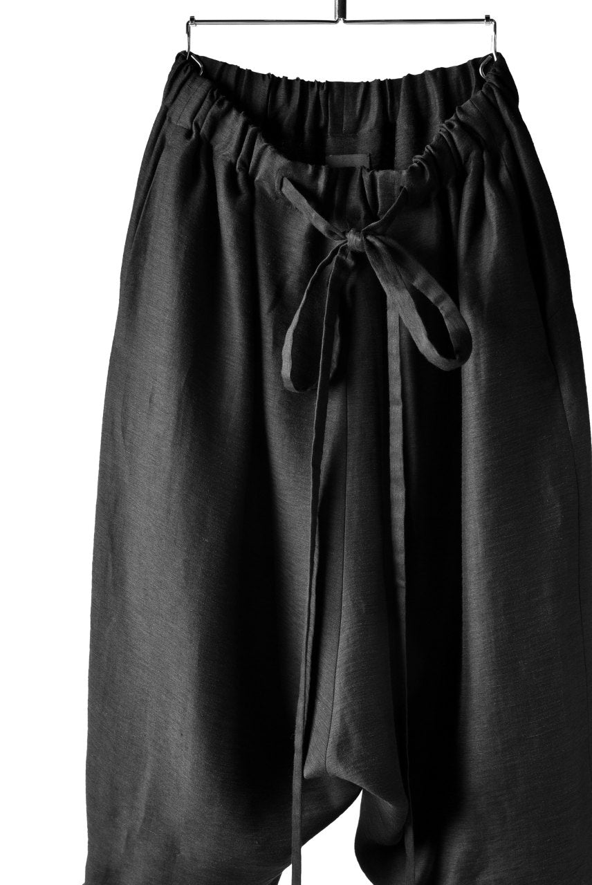 SOSNOVSKA INCLINATION WIDE PANTS (BLACK)