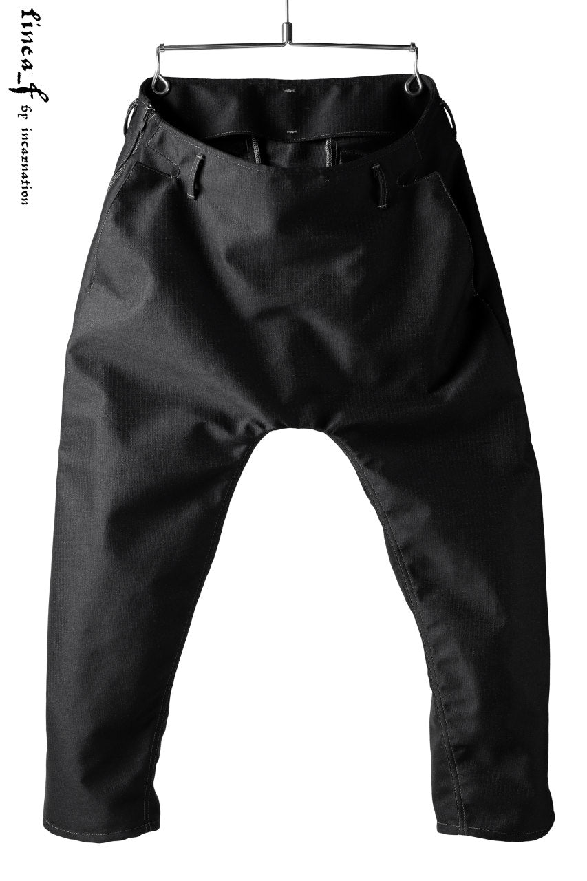 linea_f by incarnation Drop Clotch Cropped Pants