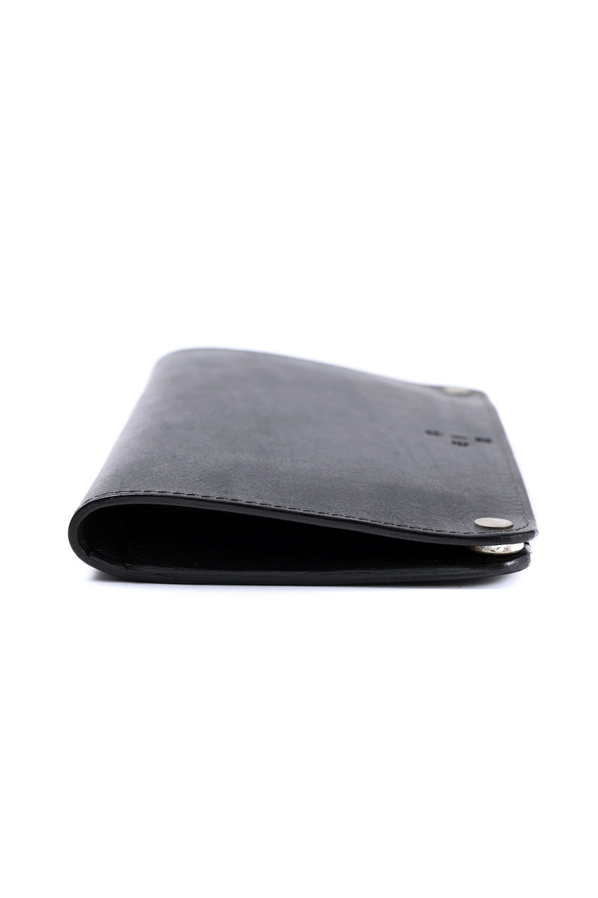 ierib Removal Long Wallet / Guidi Fiore (BLACK)