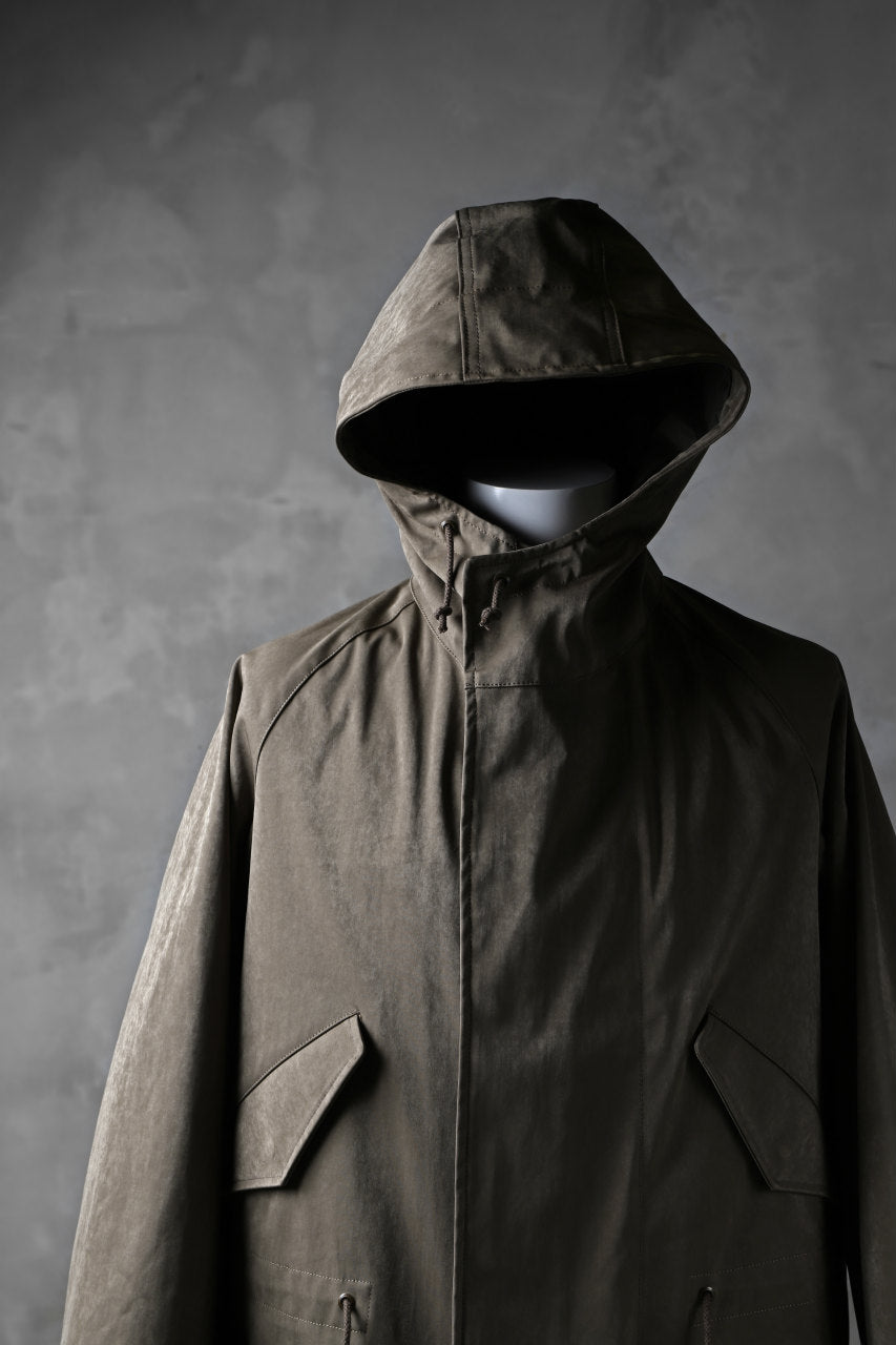 COLINA M-1948 HOOD PARKA COAT / HIGH DENSITY MILICLOTH (OLIVE)