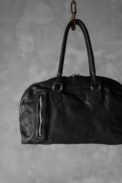画像をギャラリービューアに読み込む, ISAMU KATAYAMA BACKLASH BOSTON BAG / Italy Shoulder + JP-Tanned Steer