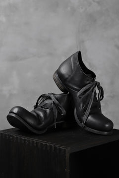 Load image into Gallery viewer, Portaille exclusive PL20 Derby Shoes (ROMANERO Soft Horse / BLACK)