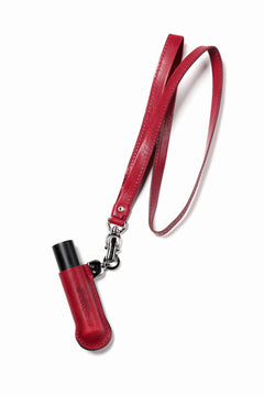 画像をギャラリービューアに読み込む, ISAMU KATAYAMA BACKLASH ATOMIZER NECK HOLDER / Italy Shoulder (RED)