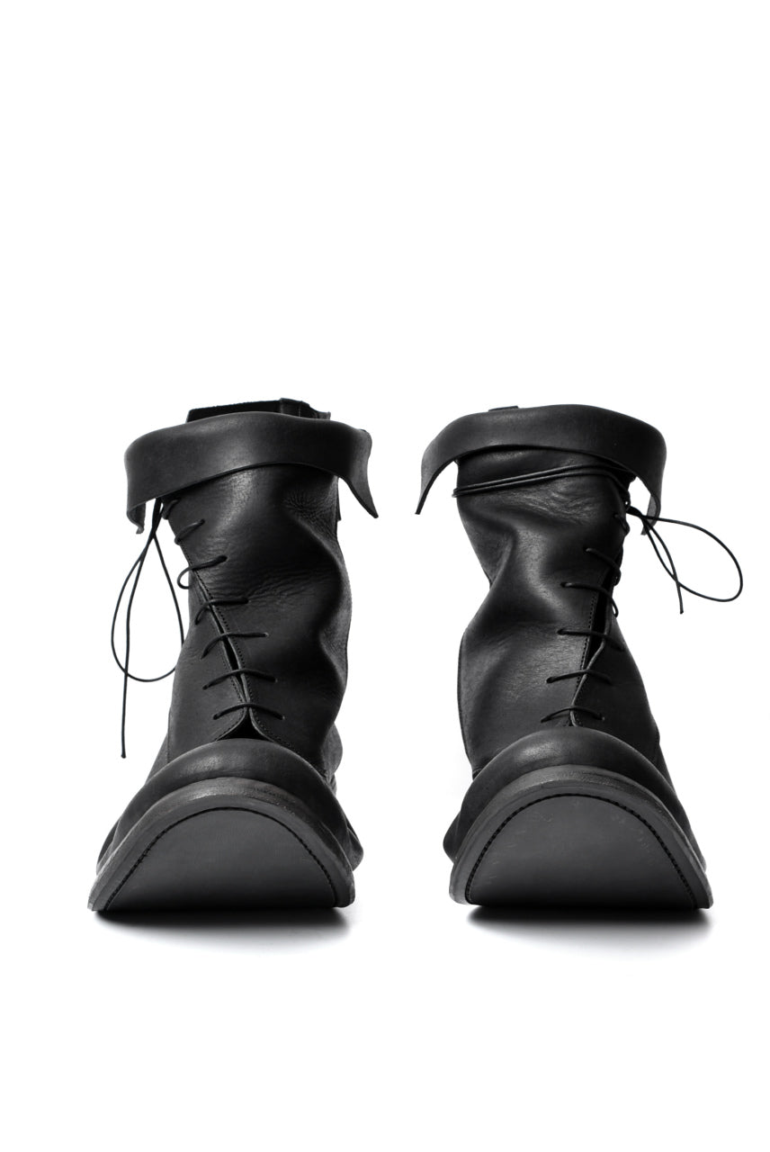 "画像をギャラリービューアに読み込む, prtl x 4R4s exclusive Twisted Lace Boots / PUEBLO by Badalassi Carlo ""No4-4"" (BLACK)"