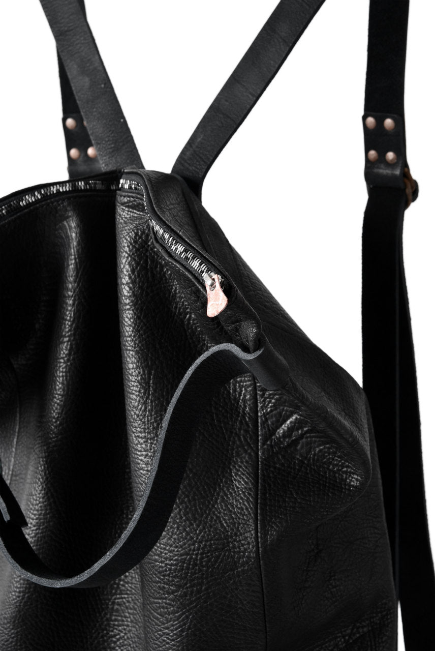 Load image into Gallery viewer, ierib exclusive MT harness 2way backpack / horse shrink (BLACK)
