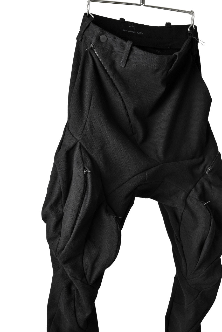 LEON EMANUEL BLANCK DISTORTION MILLTARY POCKET PANTS / MORPH TWILL (BLACK)